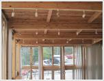 グラスハウスの天井