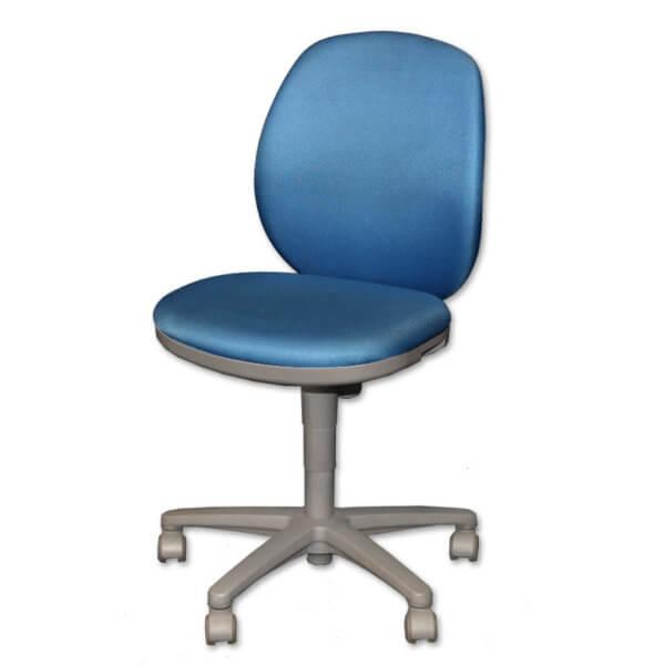 201010400011_オフィスチェア(回転椅子)肘無布 ローバック-a