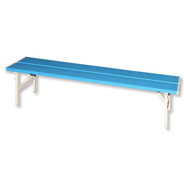 201028600180_ベンチ背無プラスチック-ブルー-a