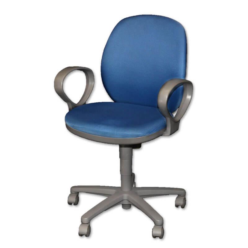 201015400011_オフィスチェア(回転椅子)肘付布 ローバック-a