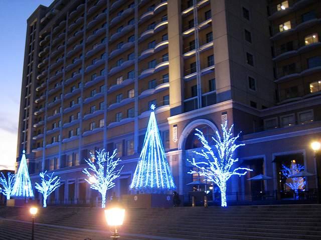 レンタル納入事例 LEDクリスマスツリー