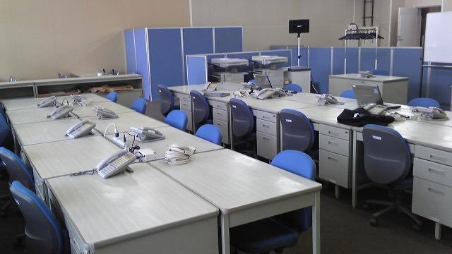 スタッフ50名の選挙事務所の備品【レンタル】