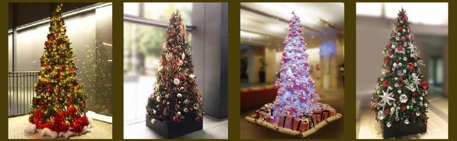 クリスマスツリーの一覧1