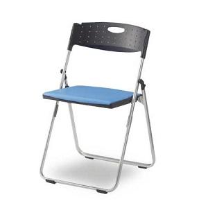 201022500070パイプ椅子 ブルー
