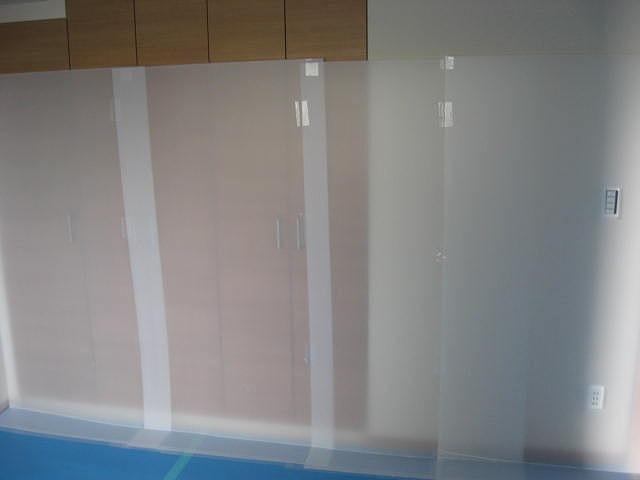 販売センターの備品レンタルと新築物件の室内養生