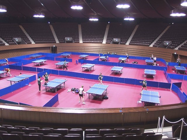 レンタル納入事例 世界卓球選手権東京大会