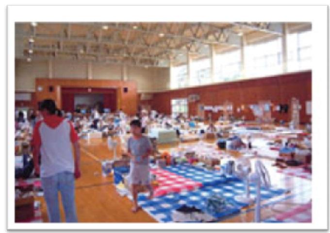災害時の備品供給(ジャパン・レンタル・アソシエーション)