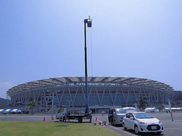 コンサート会場への落雷対策【避雷ドーム】