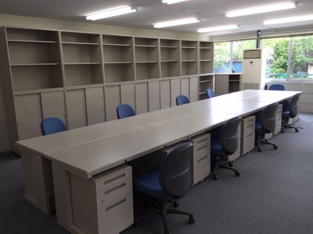 工期の長い新築工事現場事務所【オフィス備品一式のレンタル事例】