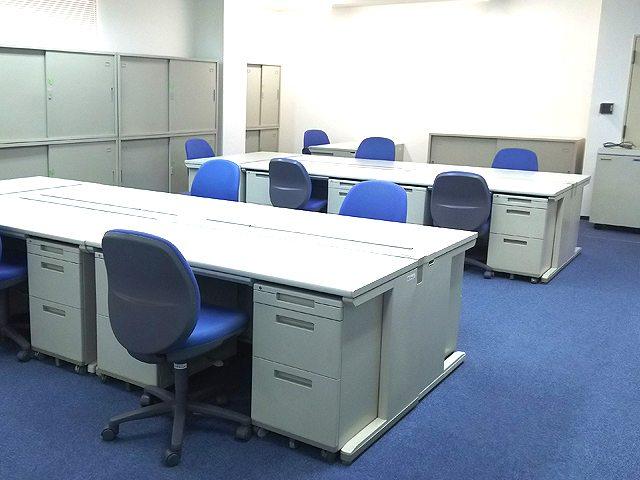 工期の長い土木現場事務所内の備品