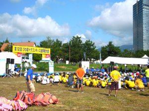 ボート競技会場の備品レンタルと安全対策