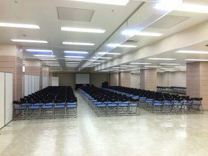 合同企業説明会の講演スペース