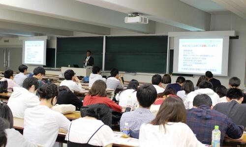お知らせ_京都産業大学で講演を行いました-2