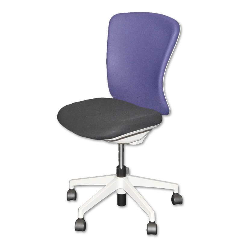 201010800001_オフィスチェア(回転椅子)肘無 布 ハイバック バルチェ-a