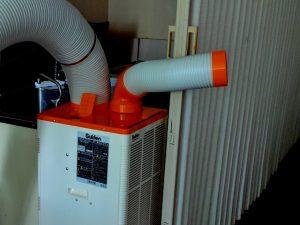納入事例_まんが喫茶のエアコン故障による室温調整対策