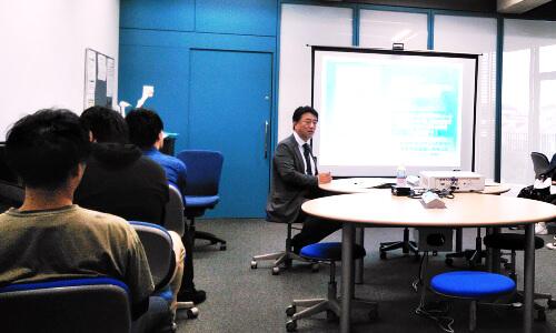 お知らせ_6月14日-当社代表の中塚が和光大学で講演を行いました-1
