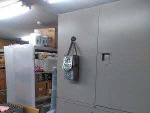 事務所・倉庫の防災対策【投てき用消火器具の販売事例】