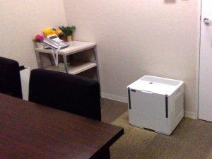 会議室(ミーティングルーム)の乾燥対策【加湿器のレンタル事例】