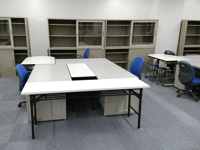 工期が終了した現場事務所の移設対応【仮設事務所備品のレンタル事例】