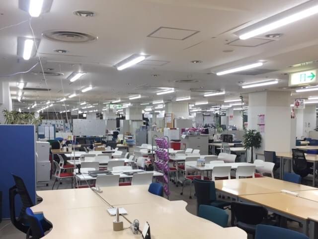 Peach様のオフィスのコストマネジメント対策【LED照明のレンタル事例】
