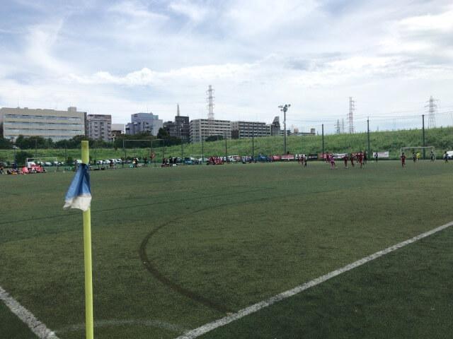 サッカー大会の様子