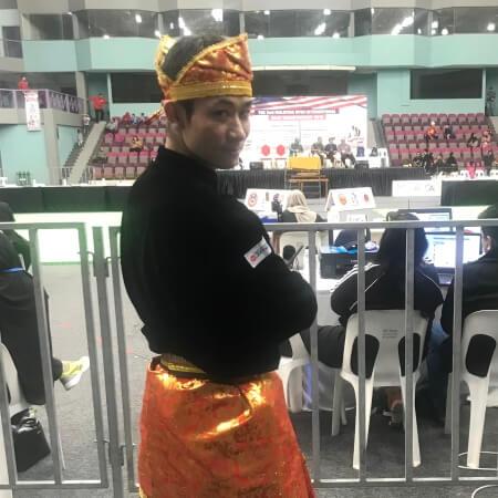 プンチャック・シラット国際大会に麻生大輔が出場しました