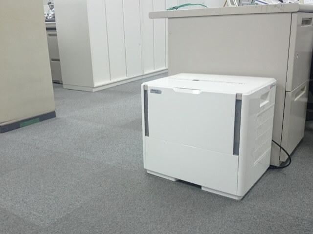 オフィス内の乾燥対策【加湿器のレンタル事例】