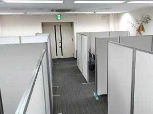 会議スペースの増設対策【パーテーションのレンタル事例】