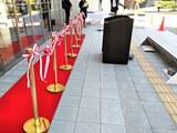 カテゴリ_大学カフェのオープン記念式典対応【式典用品のレンタル事例】