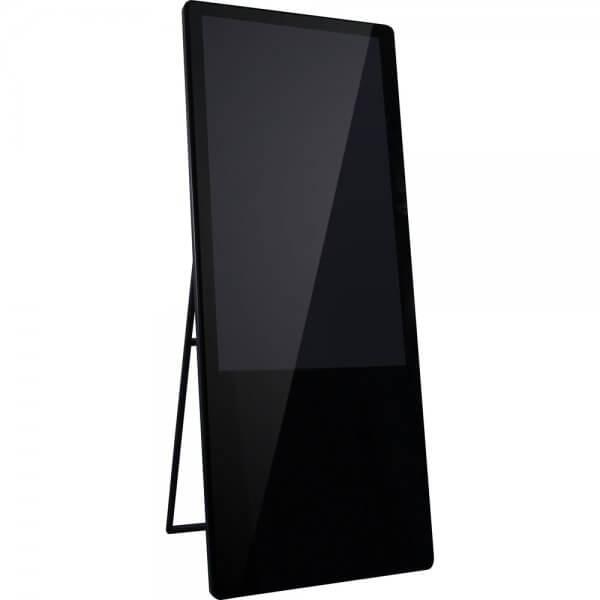 イーゼル型サイネージ 屋内用 Android7.1 43-55インチ レンタル