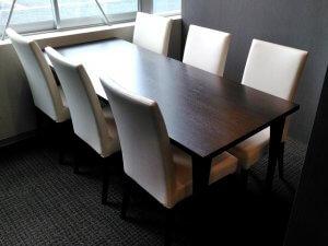 1F商談コーナーの家具