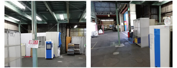業務用加湿器(大容量50L・特大)の工場や倉庫での利用