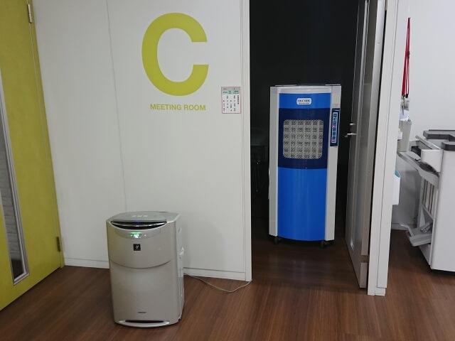 オフィスの湿度管理対策【業務用加湿器特大のレンタル事例】