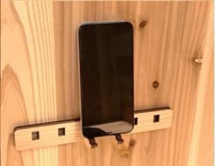 801000100101木製1人用ブース モバイルスタンド