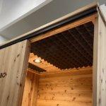 801000100101木製1人用ブース 天井有